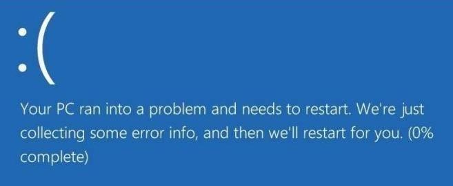 (Atrisināts) Datorā radās problēma, un tas ir jārestartē