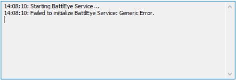 BattlEyeサービスの初期化に失敗しました:一般的なエラー(修正済み)