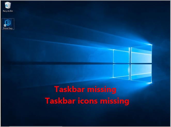 Uzdevumjosla trūkst? 4 padomi ikonas, kas trūkst uzdevumjoslā operētājsistēmā Windows 10