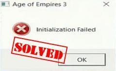 Ratkaistu: Age of Empires 3 -alustus epäonnistui