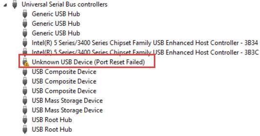 Comment résoudre le problème de périphérique USB inconnu (échec de la réinitialisation du port) pour Windows 10