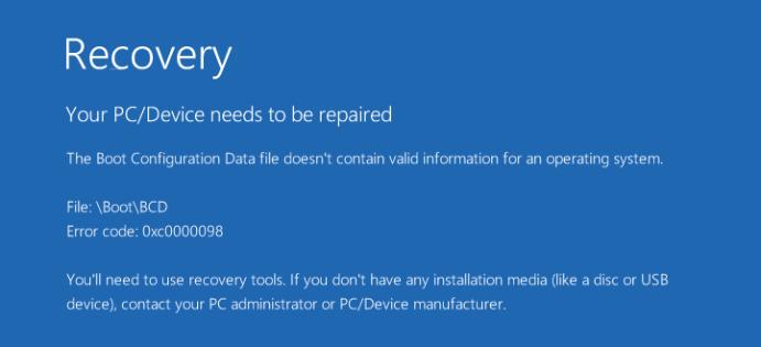 Como consertar seu PC / dispositivo precisa ser consertado