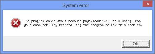 Ratkaistu: physxloader.dll puuttuu Game Start -virhe