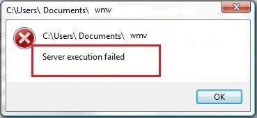Windows Media Player 'Serverausführung fehlgeschlagen' Fehler unter Windows (behoben)