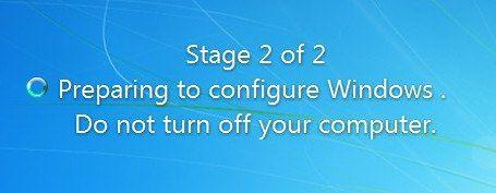 'विंडोज को कॉन्फ़िगर करने की तैयारी' (आसानी से) पर अटकने को कैसे ठीक करें