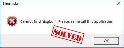 (Gelöst) PUBG dxgi.dll-Fehler kann nicht gefunden werden