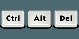 Ctrl + Alt + Del não funciona (RESOLVIDO)