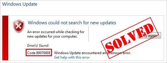 (Atrisināts) Windows atjaunināšanas kļūda 8007000e | Ātri un viegli!