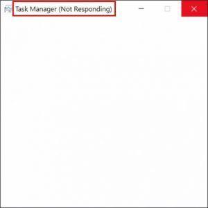 Task Manager non risponde (risolto)