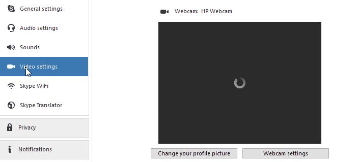 Enostavno popraviti Skype Video ne deluje v sistemu Windows 10