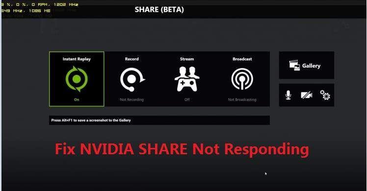 NVIDIA शेयर प्रतिक्रिया नहीं (हल)