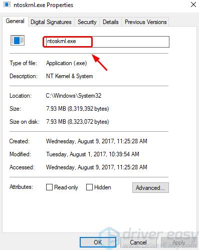 ntoskrnl.exe Alta utilização de CPU ou disco no Windows 10 (resolvido)