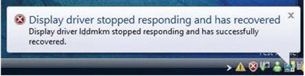 (Rešeno) Gonilnik zaslona se je prenehal odzivati in je obnovljen