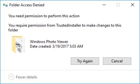 Kako pridobiti dovoljenje Trustedinstallerja za spremembe datotek