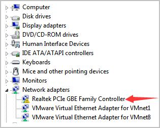 विंडोज 10, 7 के लिए Realtek PCIe GBE परिवार नियंत्रक ड्राइवर ...