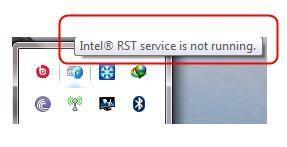 (Gelöst) Der Intel RST-Dienst wird unter Windows 10 nicht ausgeführt