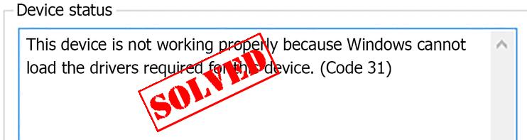Kā novērst kļūdas kodu 31 sistēmā Windows 10/8/7 (VIEGLI)