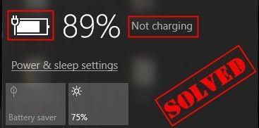 (RESOLVIDO) | A bateria do laptop não carrega | Rapidamente e facilmente!