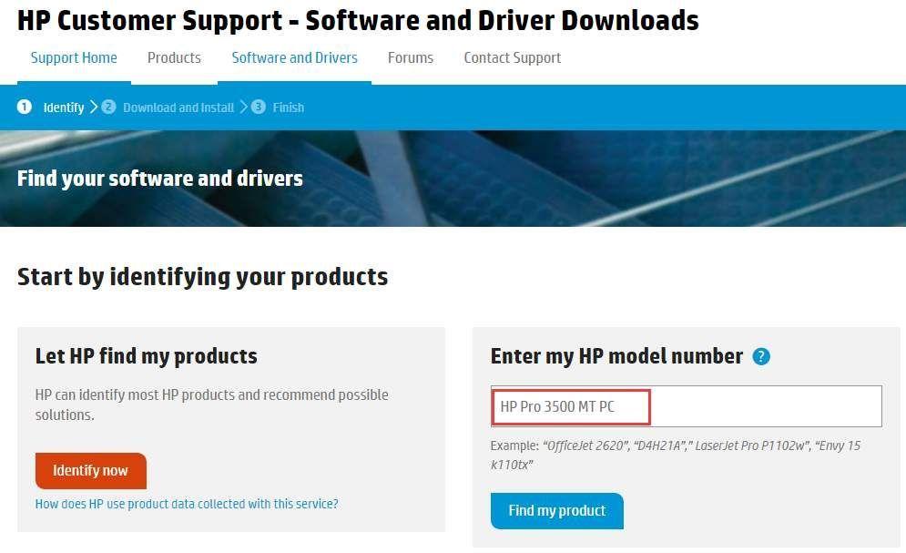 2 Möglichkeiten zum Herunterladen von HP Pro 3500 MT PC-Treibern
