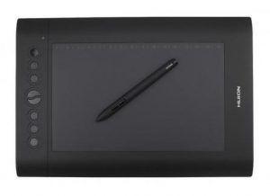 Huion H610 Pro zīmēšanas planšetdatora draivera lejupielāde
