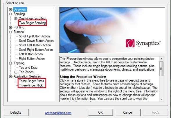 Synaptics rādītājierīču draiveri, kas nedarbojas operētājsistēmā Windows 10 (atrisināts)