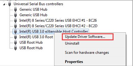 यूएसबी 3.0 ड्राइवर अपडेट विंडोज 10, 7 और 8 के लिए आसानी से
