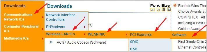 Ispravite problem s Realtek 8821AE bežičnim LAN 802.11ac PCI-E NIC upravljačkim programom