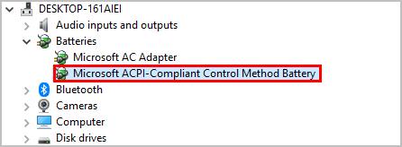 (फिक्स्ड) Microsoft ACPI- शिकायत नियंत्रण विधि बैटरी ड्राइवर समस्याएँ