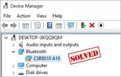 CSR8510 A10 draivera problēmas sistēmā Windows (SOLVED)