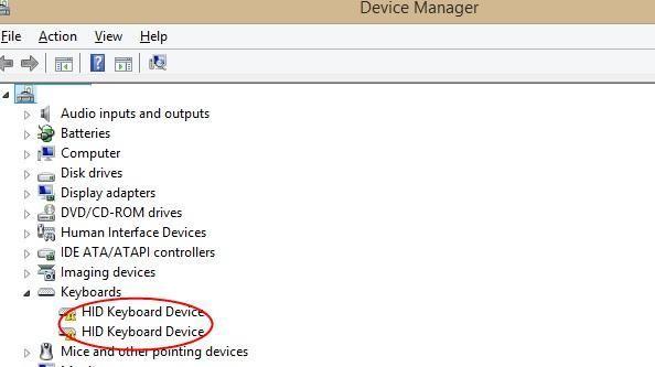 HIDキーボードデバイスドライバーのダウンロードと更新が簡単