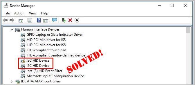 Kuinka korjata I2C HID -laiteajuriongelmat helposti
