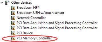 Como corrigir problemas de driver de controlador de memória PCI