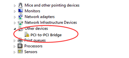 Fix PCI-to-PCI Bridge Driver probleem eenvoudig en snel!