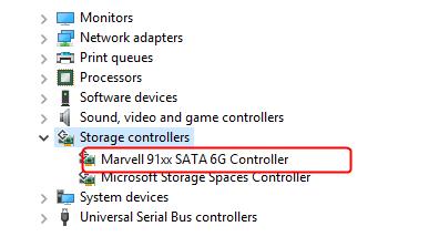 Novērst Marvell 91xx draivera problēmu operētājsistēmā Windows 10 (atrisināts)