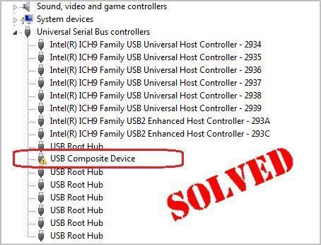 Kako odpraviti napako gonilnika sestavljene naprave USB (rešeno)
