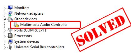 Beheben Sie problemlos das Problem mit dem Multimedia Audio Controller-Treiber
