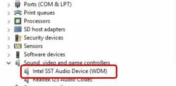 Korjaa Intel SST Audio Device (WDM) -ajurin ongelma helposti