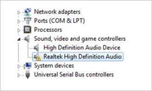 Realtek augstas izšķirtspējas audio draiveri operētājsistēmai Windows 7 (atrisināts)