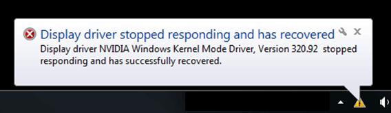 Solucionar el problema de respuesta del controlador del modo kernel de Windows de NVIDIA