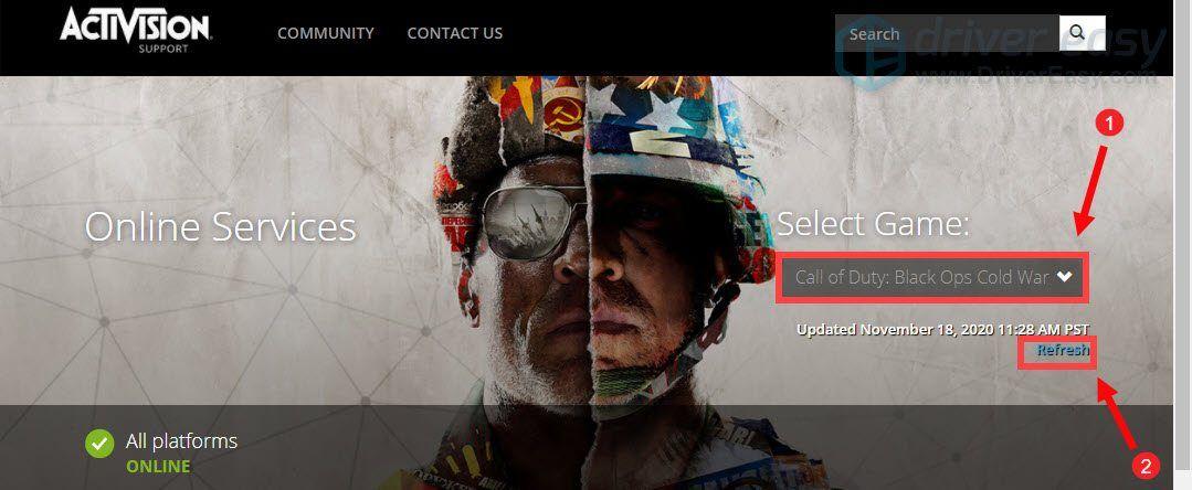 [RÉSOLU] Call of Duty Cold War ne se connecte pas aux services en ligne