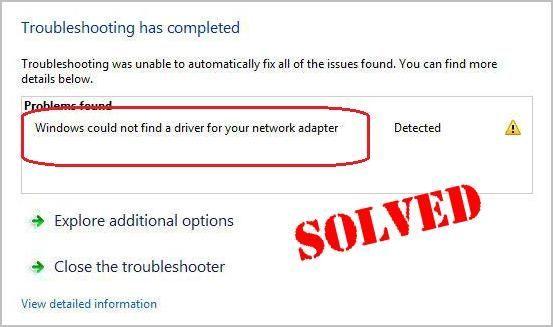(Atrisināts) Windows nevarēja atrast draiveri jūsu tīkla adapterim