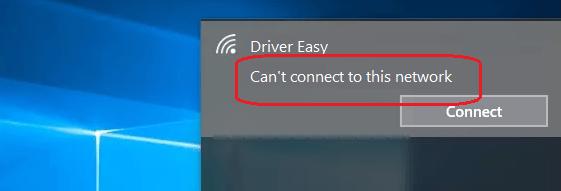 Como consertar o Windows 10 que não consegue se conectar a esta rede