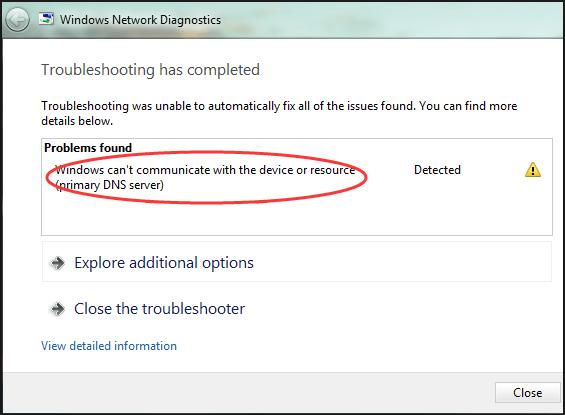 Windows nemohou komunikovat se zařízením nebo prostředkem (opraveno)