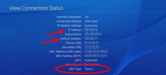 Jak změnit typ NAT na PS4