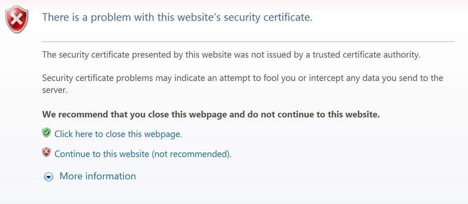 Kā novērst Google sertifikāta kļūdu