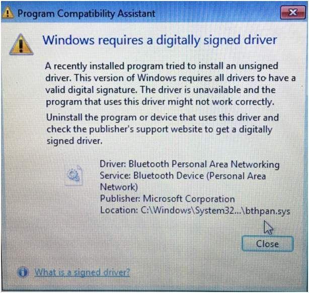 (Resuelto) Windows requiere un controlador firmado digitalmente