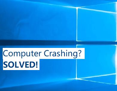 (Kiinteä) Tietokone kaatuu jatkuvasti Nopeasti ja helposti