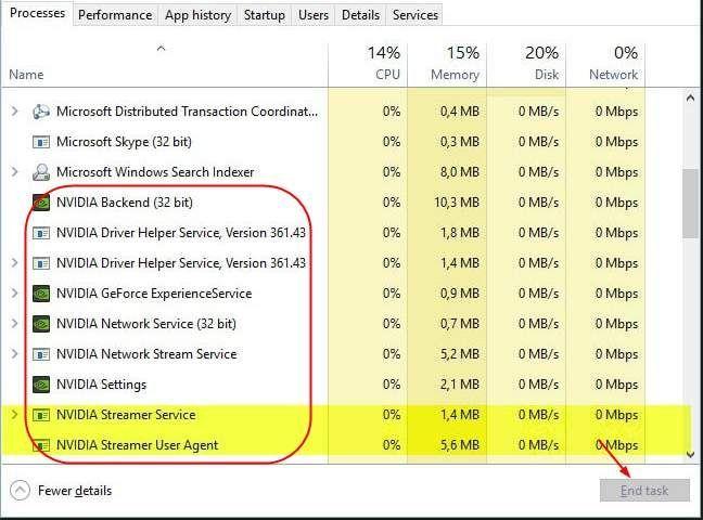 حل: NVIDIA جیوفیر کے تجربے میں غلطی کا کوڈ 0x0003