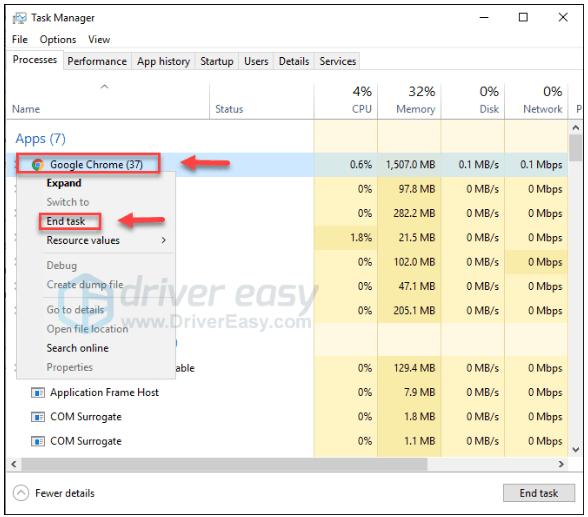 (RISINĀTS) Google Chrome netiek atvērts