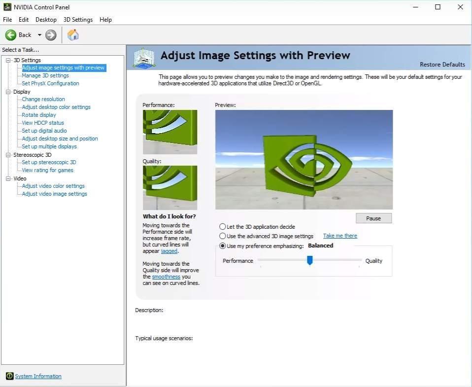 Lejupielādējiet NVIDIA vadības paneli operētājsistēmai Windows 10, 7, 8.1